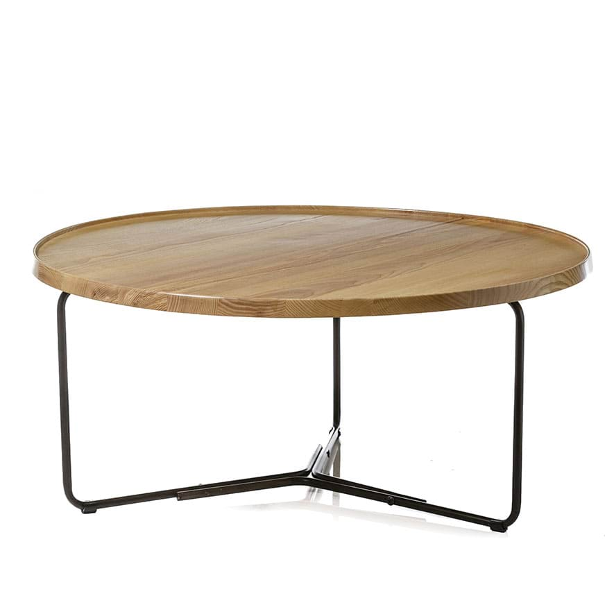 Home Republic Aspen Coffee Table Natural Furniture Side Tables Adairs Online
