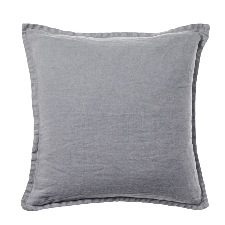 Home Republic Belgian Vintage Washed Linen Cushion Seal
