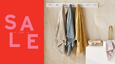 SAVE up to 40% on Towels