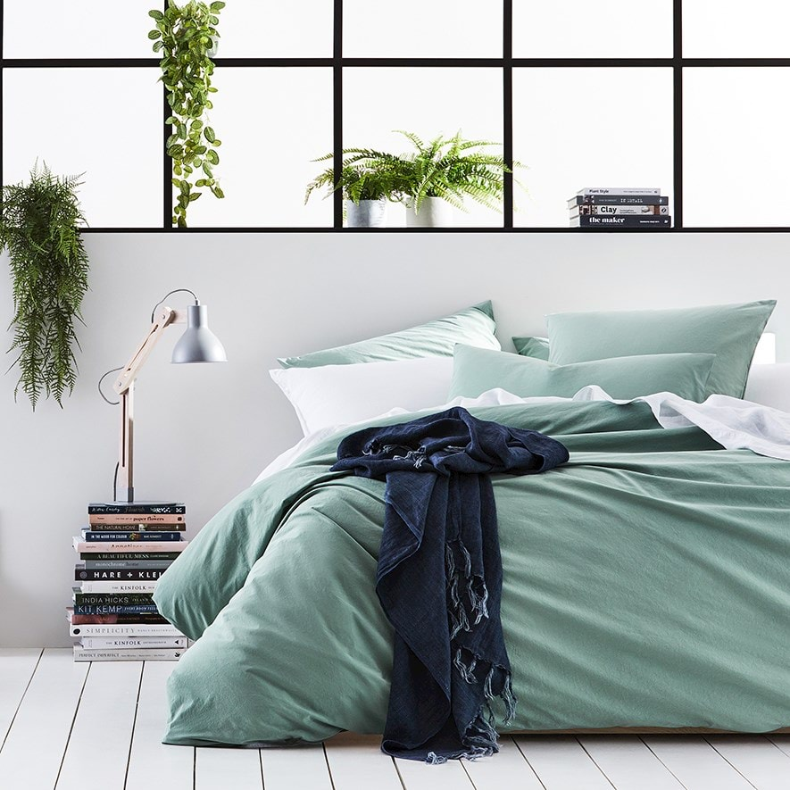 Home Republic Stonewashed Cotton Quilt Cover Bedroom Adairs