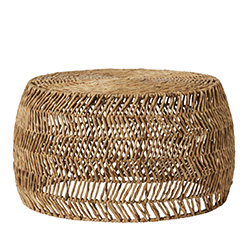 Home Republic Fez Zig Zag Side Table Stool Natural
