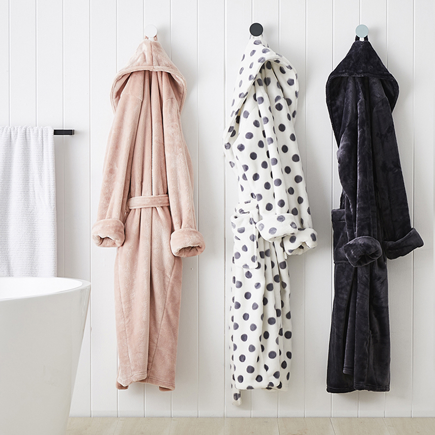Mercer Reid Ultra Soft Robe Bathroom Bath Robes