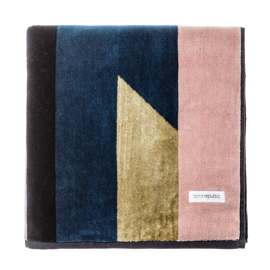 Segment Velour Towels Luxe Gold