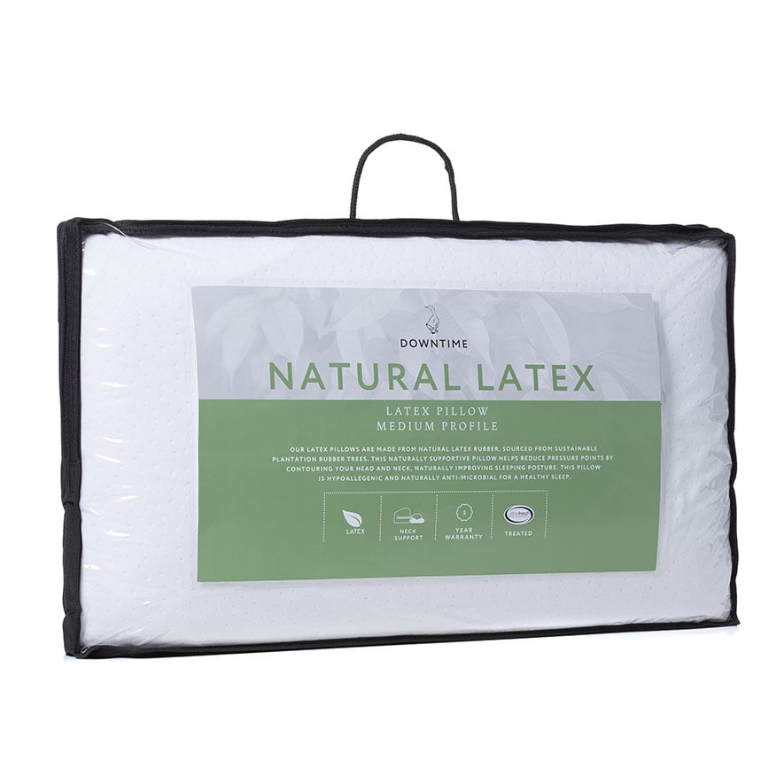 talalay heavy dust pillow hard mite resistant and goodream s p standard latex hypoallergenic