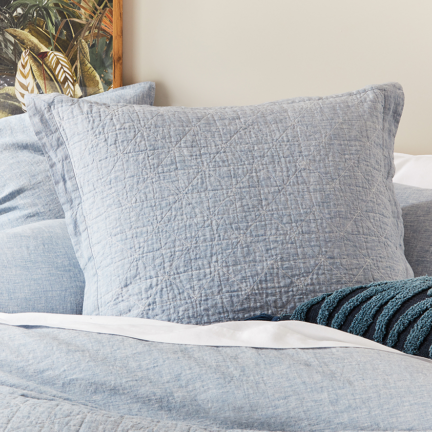 Home Republic - Vintage Washed Linen Coverlet