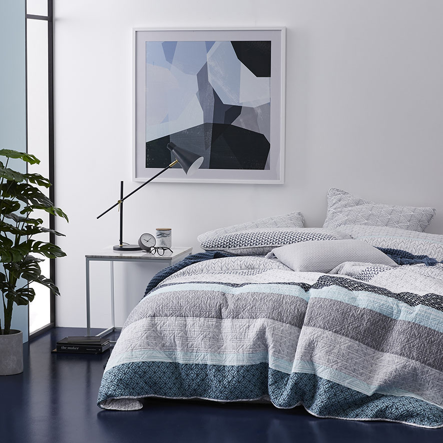Home Republic Jetta Quilt Cover Bedroom Quilt Covers Coverlets Adairs Online