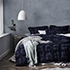 Casablanca Quilt Cover Midnight