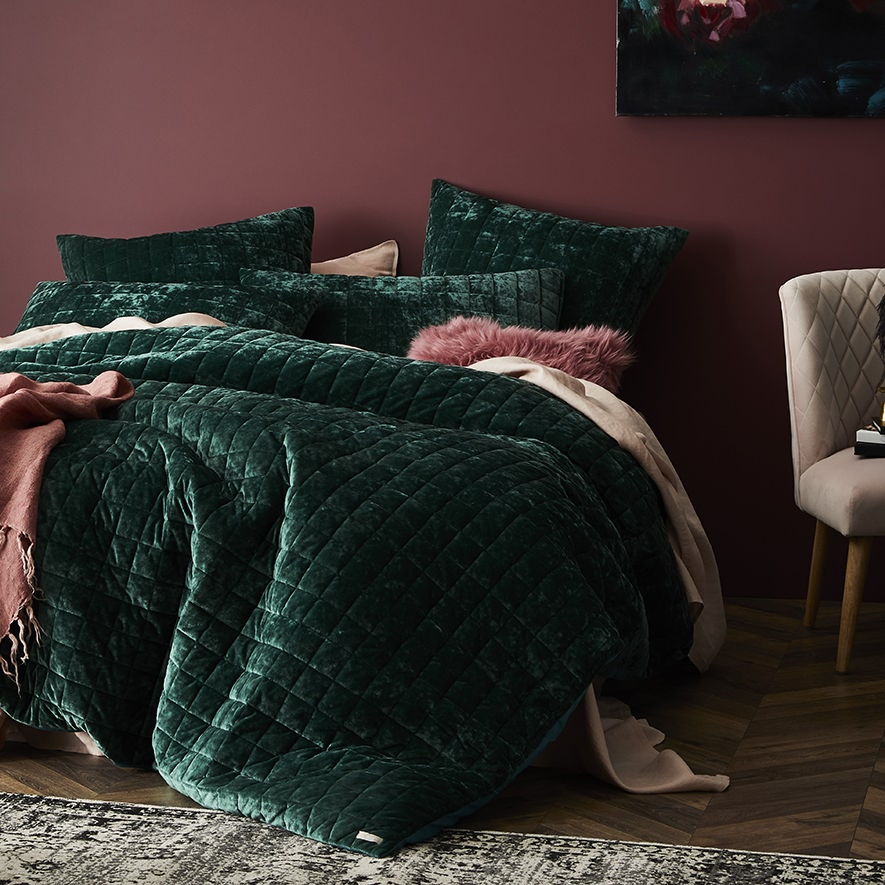 Home Republic York Quilted Quilt Cover Bedroom Quilt