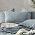 Bamboo Linen Sage Quilt Cover