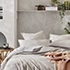 Bamboo Linen Silver Quilt Cover