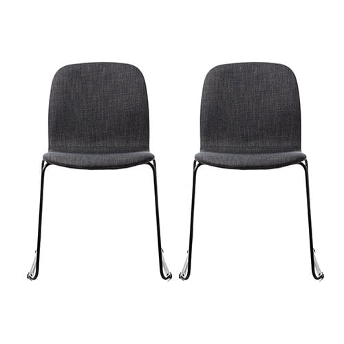Pleasant Robbie Dining Chair Charcoal Set Of 2 Pdpeps Interior Chair Design Pdpepsorg
