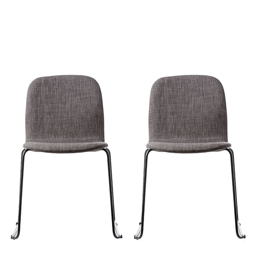 Outstanding Home Republic Robbie Dining Chairs Grey Marle Set Of 2 Pdpeps Interior Chair Design Pdpepsorg