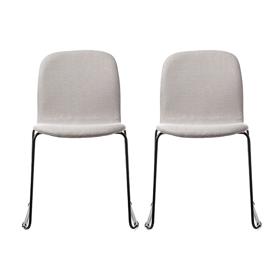 Dining Chairs Online: Robbie Dining Chair Silver Set Of 2