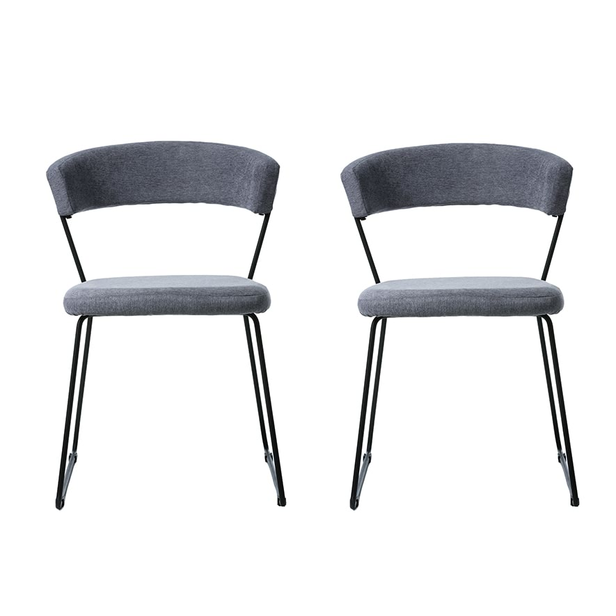 Home Republic Logan 2 Pack Dining Chairs Furniture Chairs