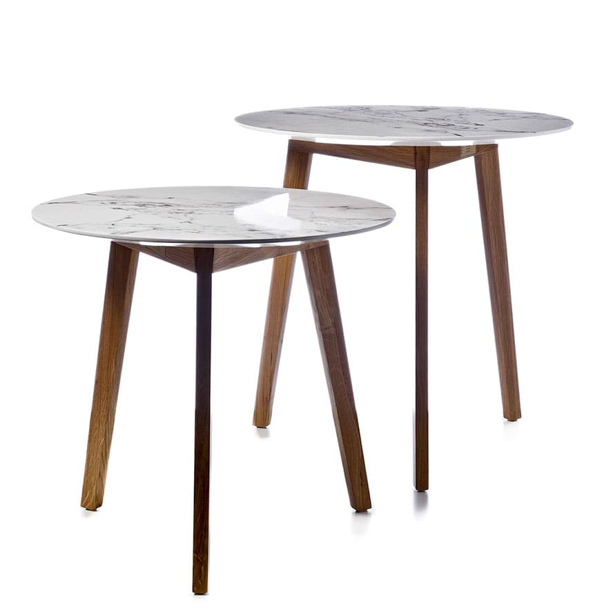 Home Republic Dane Marble Side Table Furniture Side Tables Adairs Online