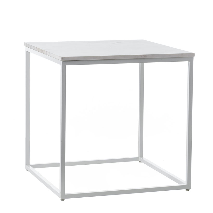 Home Republic Marlo Marble Side Table Furniture Side Tables Adairs Online