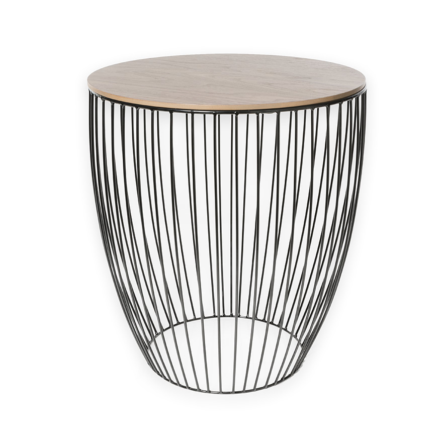 Home Republic Element Round Side Table Furniture Side Tables Adairs Online