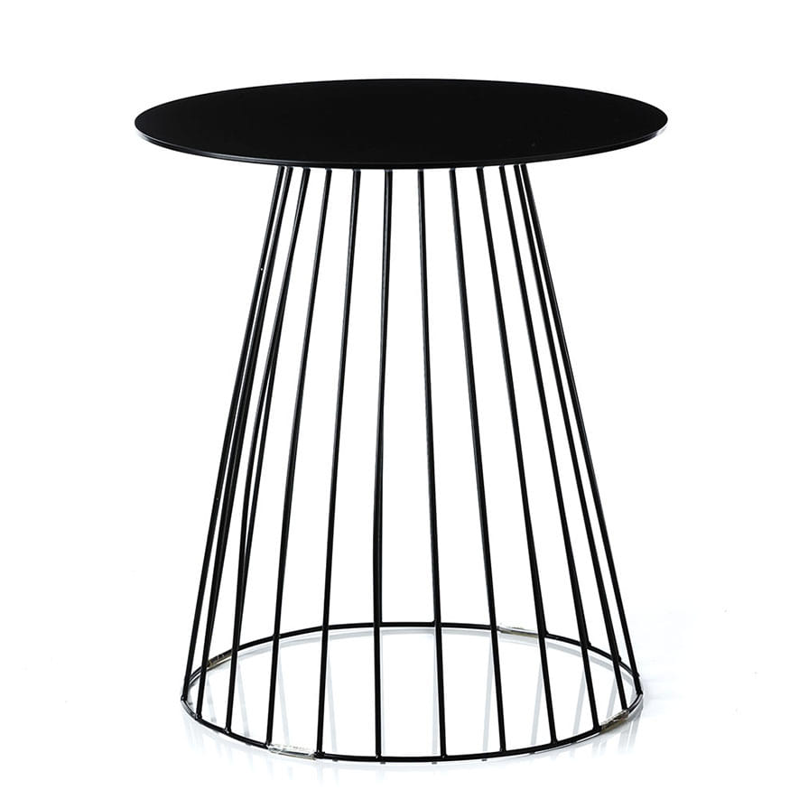 Home Republic   Element Tower Side Table Black   Furniture Side Tables    Adairs Online