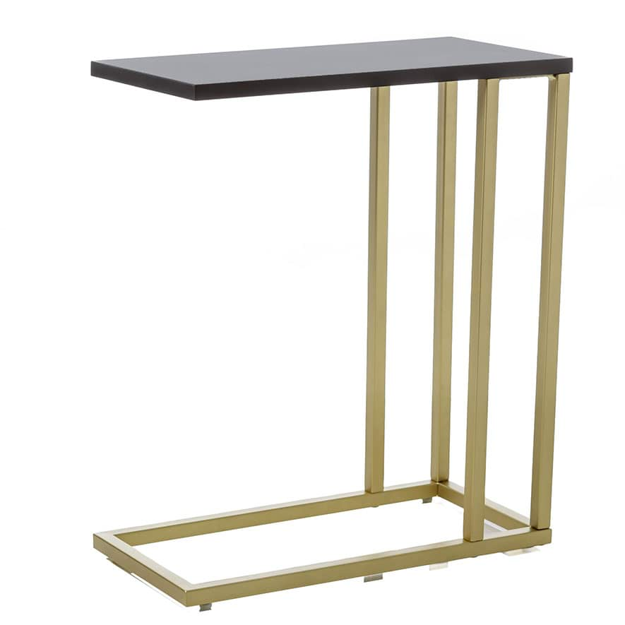Home Republic Ballarat C Table Gold Black Furniture Side Tables Adairs Online