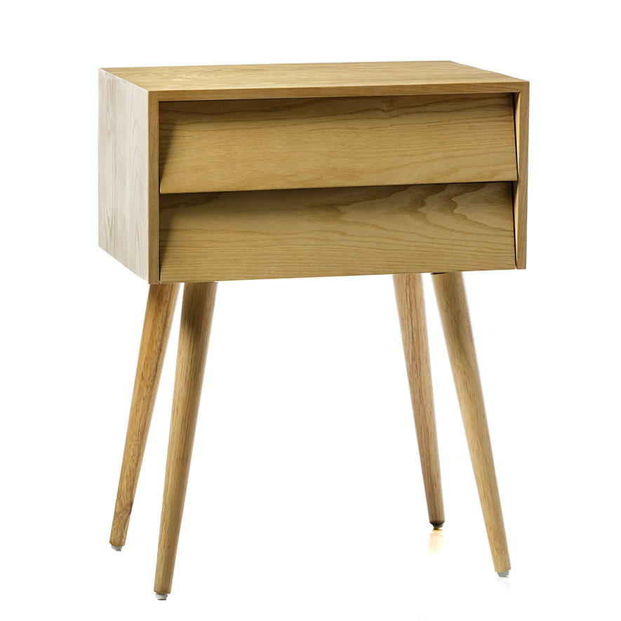 Home Republic Rosella Bedside Table Ash Furniture Side Tables Adairs Online