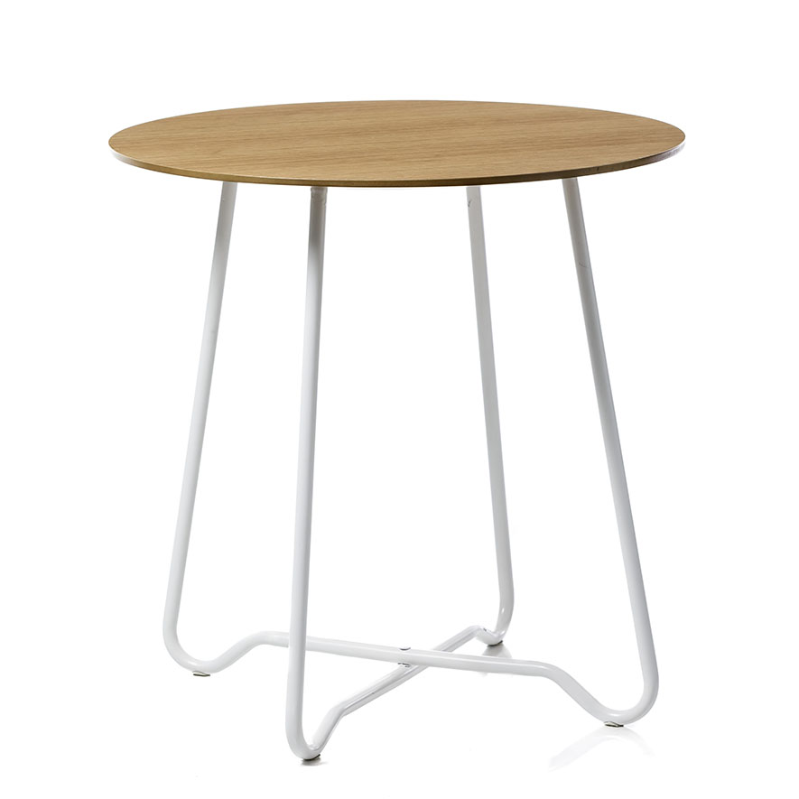 Home Republic Shiloh Side Table White Oak Furniture Side Tables Adairs Online