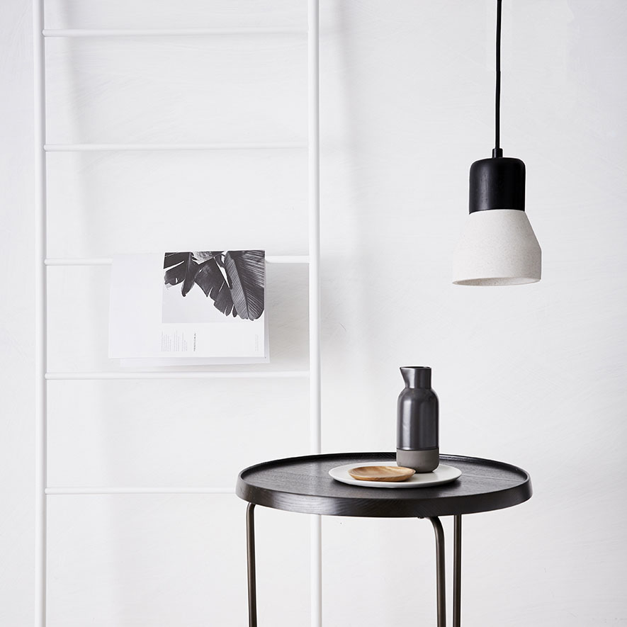 Home Republic Aspen Side Table Black Furniture Side Tables Adairs Online