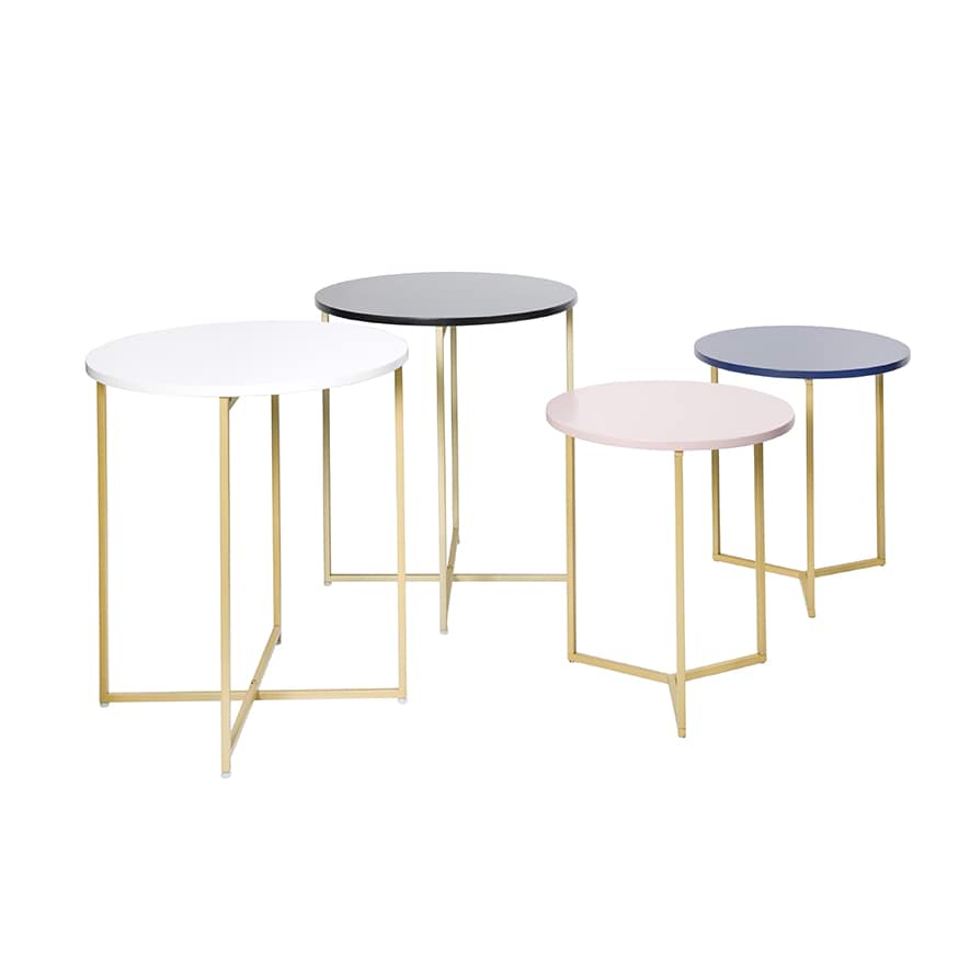 Home Republic Verona Collection Pink Small Side Table Furniture Side Tables Adairs Online