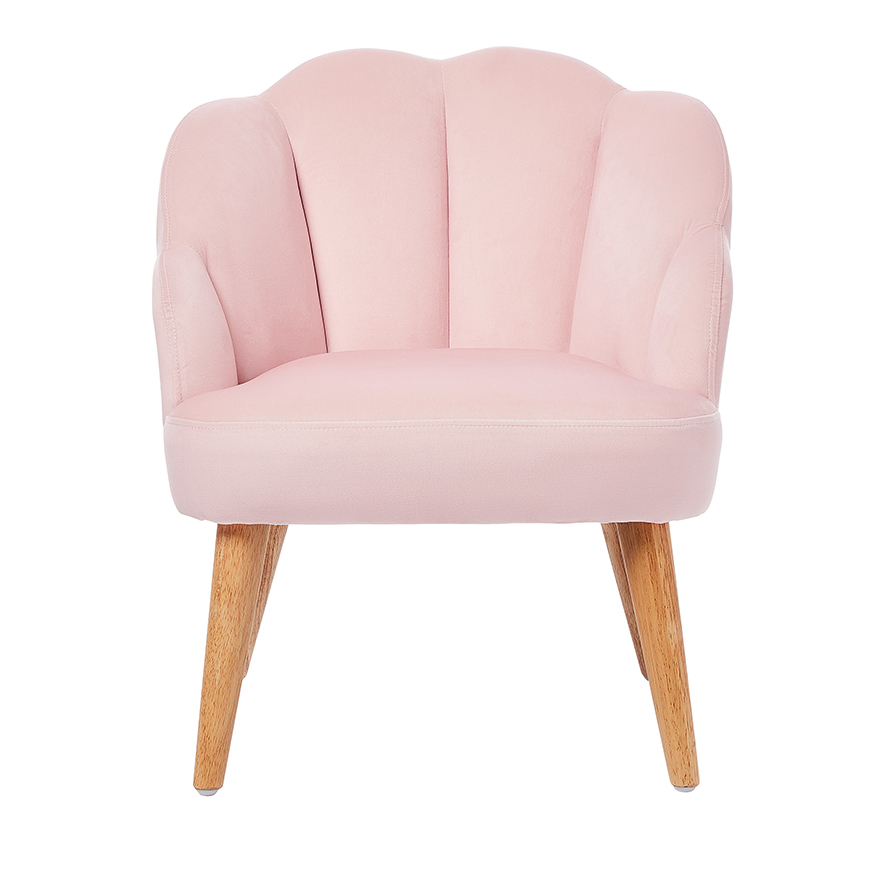 Adairs Kids Shelly Chair Pink 1 Seater