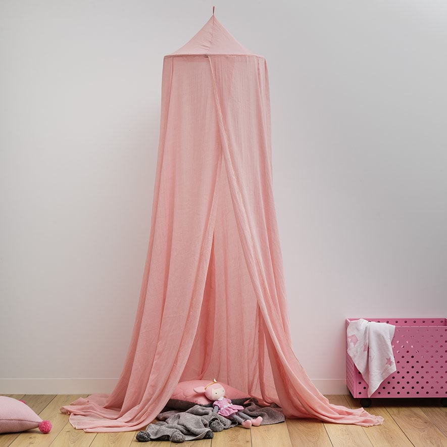 Adairs Kids - Vintage Canopy Pink - Home u0026 Gifts Gifts u0026 Toys - Adairs Online : bed canopy pink - memphite.com
