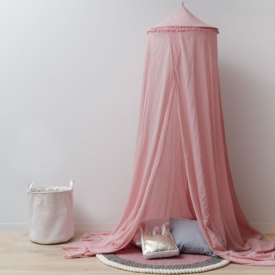 Save & Adairs Kids - Vintage Canopy Pink Pom Pom - Home u0026 Gifts Gifts ...