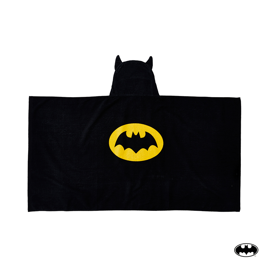Hooded Towel Black Batman