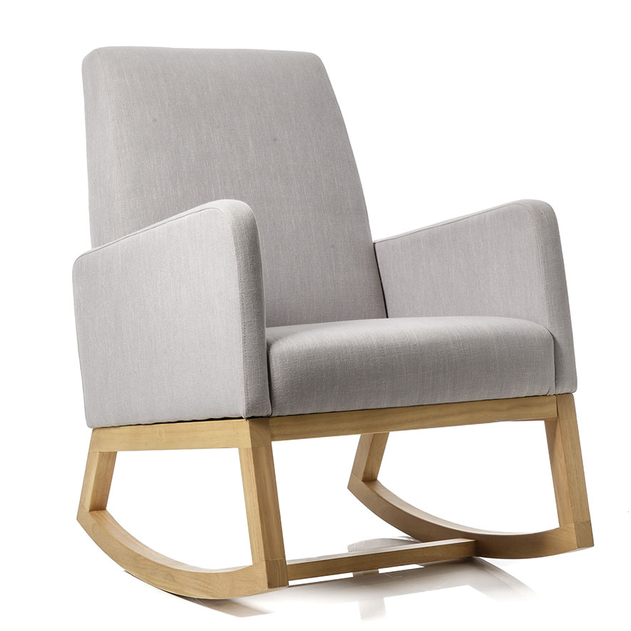 Missoni Home Rocking Chair: Carter Rocking Chair Silver