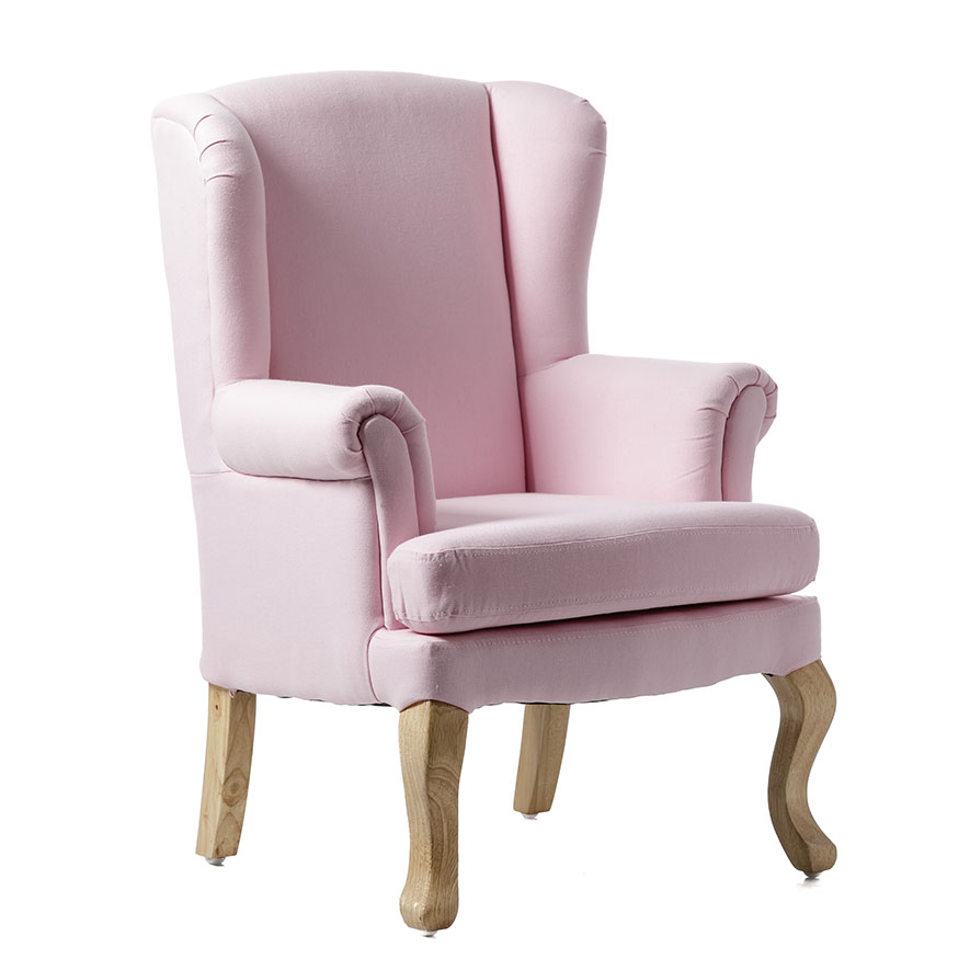 Adairs Kids Draper Chair Soft Pink Home Amp Gifts