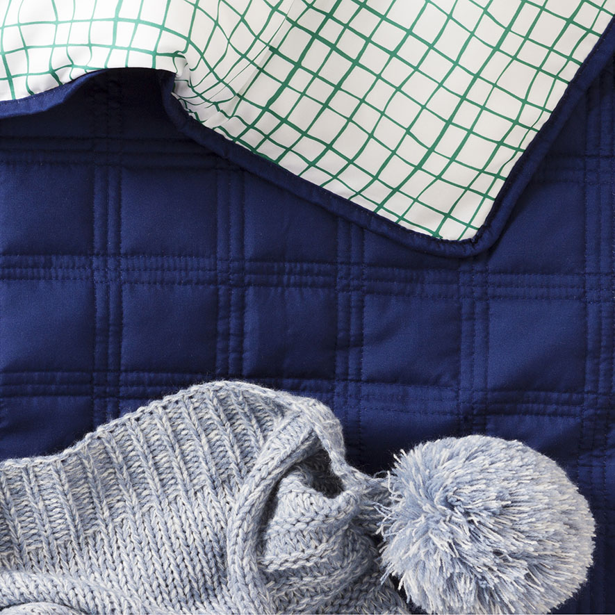 Electric Throw Rug Harris Scarfe: Kenji Quilted Cot Quilt Cover Set