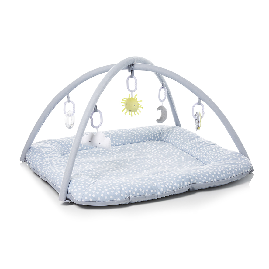 New Adairs Baby Sunny Play Gym Grey Jersey 9326420428998