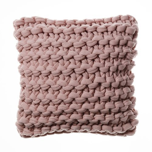 Chunky Knit Pearl Pink