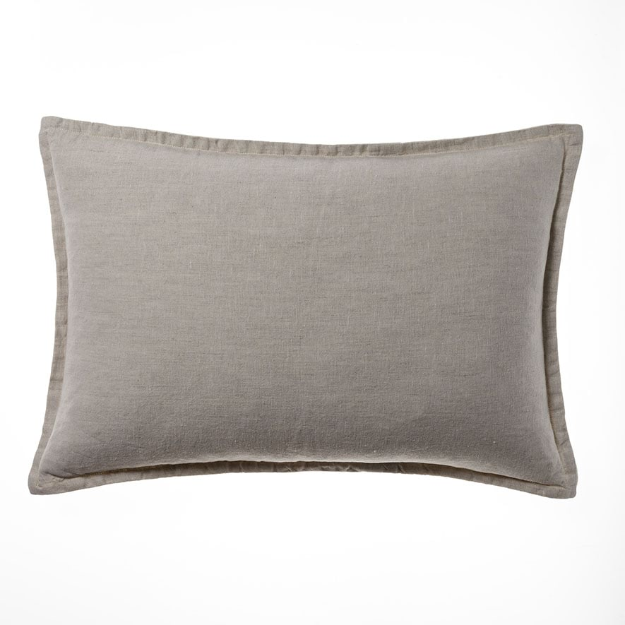 Home Republic Belgian Vintage Washed Linen Long Cushion
