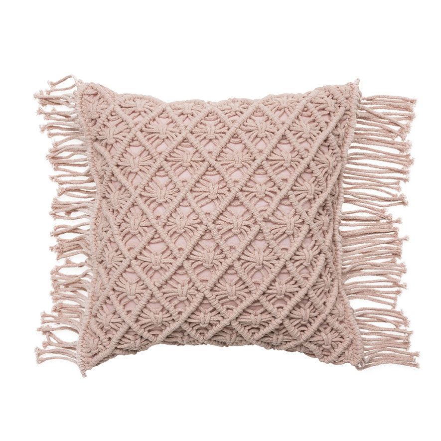 Mercer + Reid - Macrame Cushion - Homewares