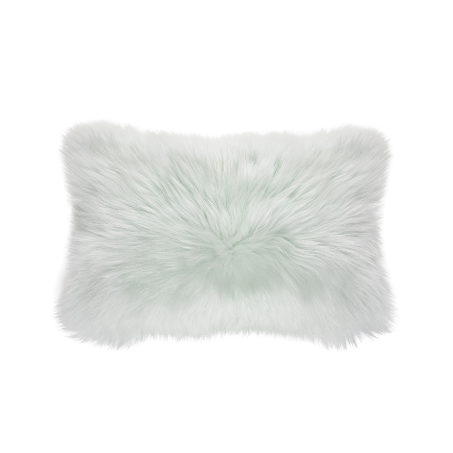 garden natural shipping product pillow home today overstock mongolian white free sheepskin