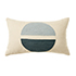 Retreat Embroidered Cushion Natural & Blues