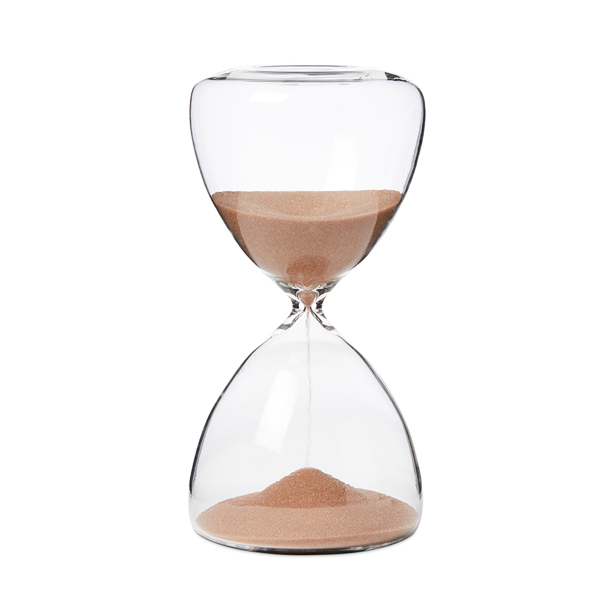 'Verona' sand glass timer from Adairs