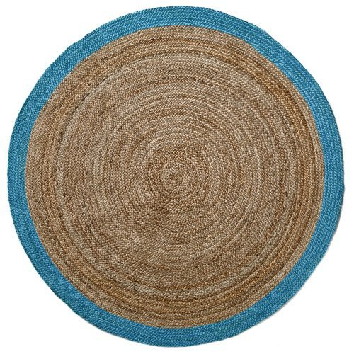 Natural Round Rug Mint