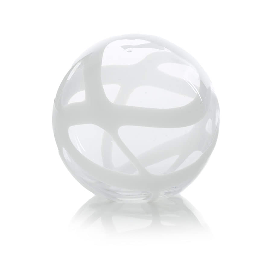 Mercer reid decorative ball white homewares home for Homewares decorative items