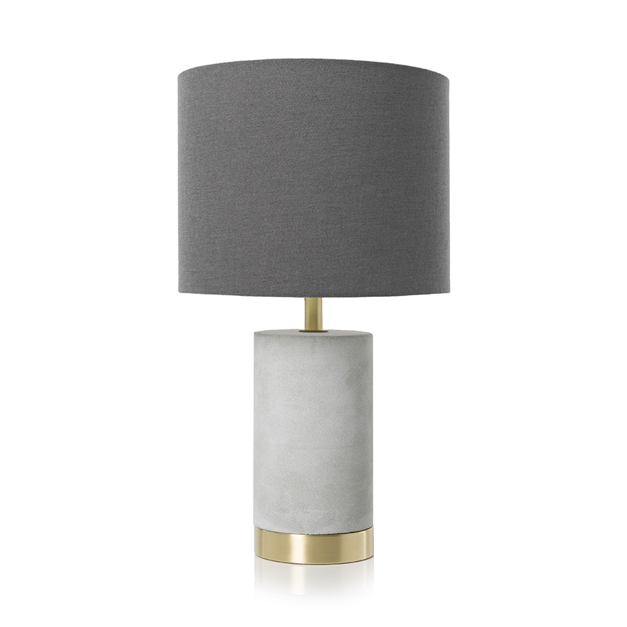 concrete table lamp. NEW Home Republic Band Lighting Brass/Concrete Table Concrete Lamp