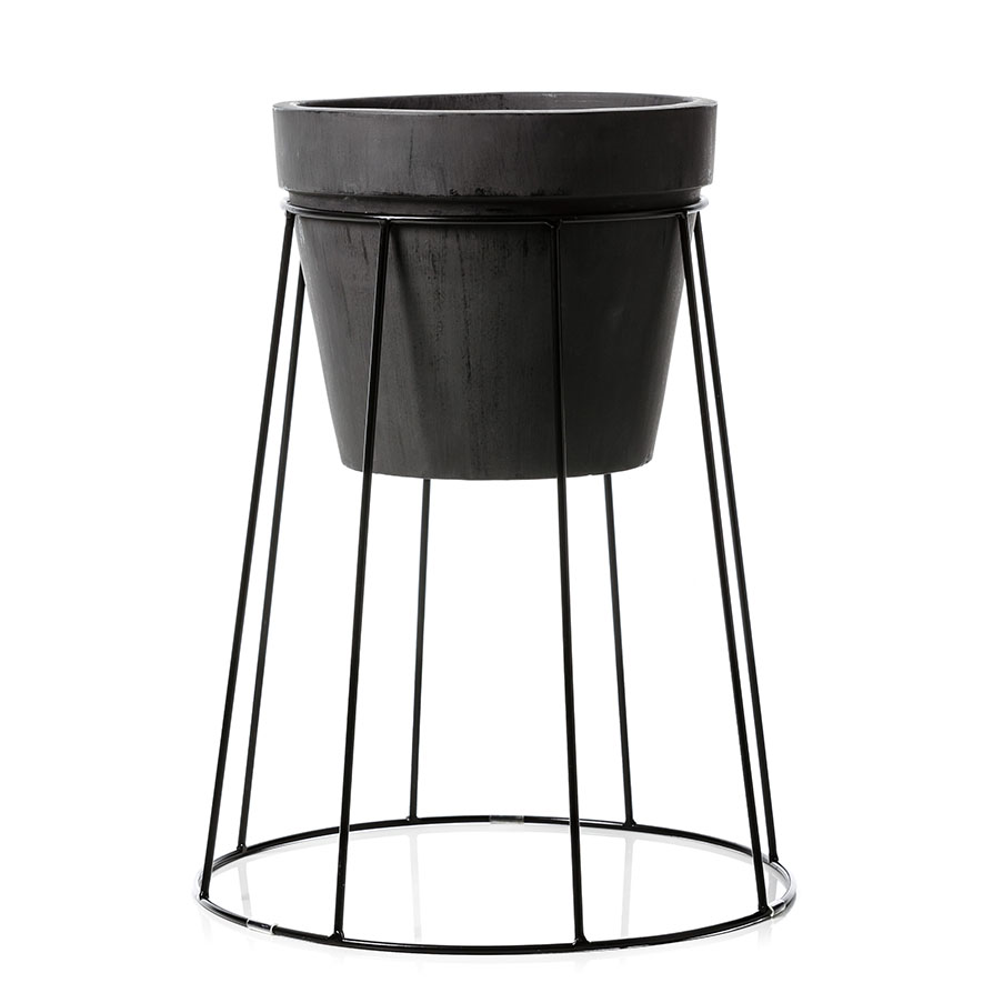 Norsk Plant Stand Black
