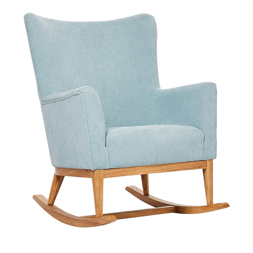 buy online d0851 e2015 Marley Baby Blue Rocking Chair