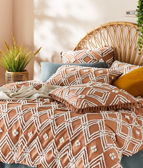 Patterned & Textured Bedlinen