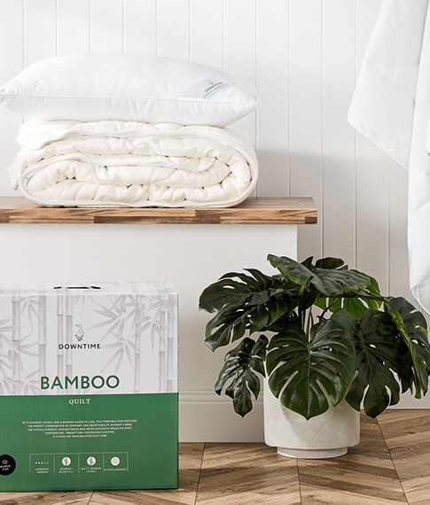 HOW TO CARE FOR YOUR BAMBOO QUILT AND PILLOWS