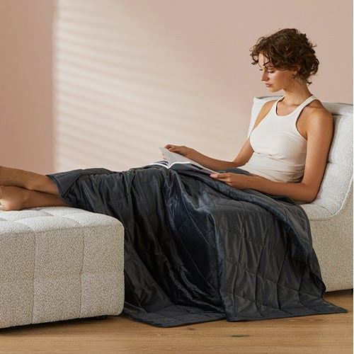 4. STAY RELAXED WITH OUR WEIGHTED BLANKETS