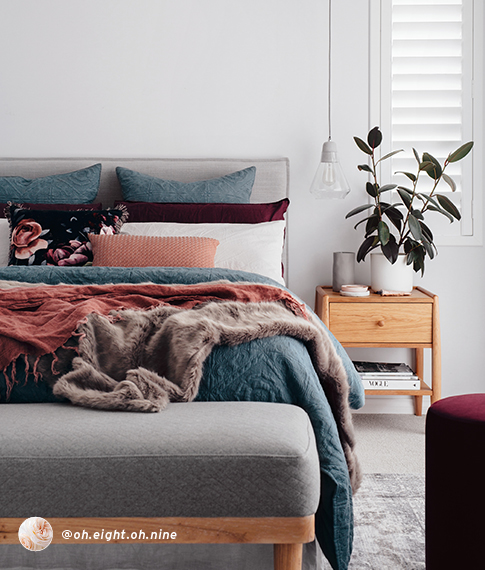Oh.Eight.Oh.Nine Creates A Beautiful Winter Hibernate Space
